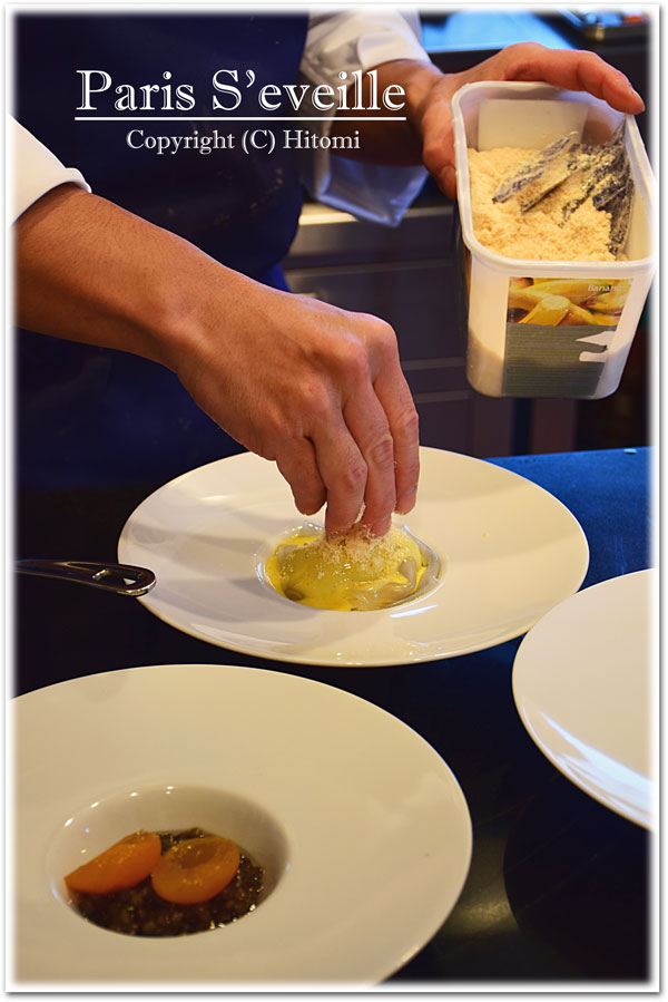レンズ豆と杏煮