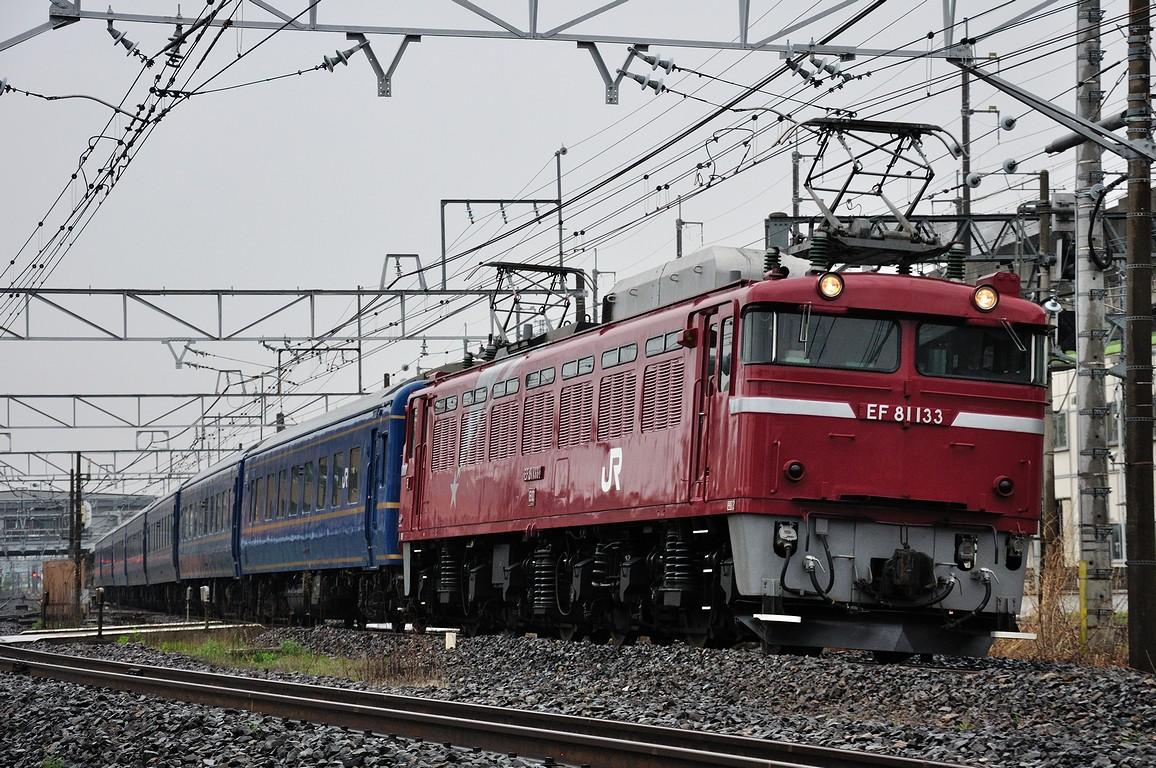 2012.04.26 1605_52(1) 久喜~新白岡 試9502レ EF81 133+24系ts2.5