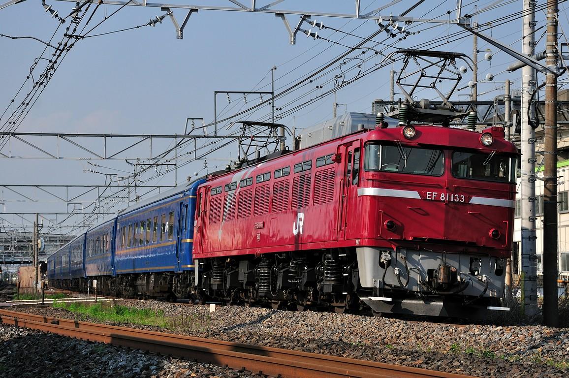 2012.05.07 1605_56(2) 久喜~新白岡 試9502レ EF81 133+24系ts