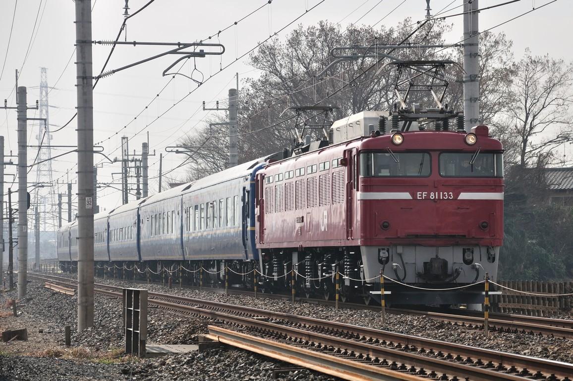 2014.02.03 1117_44(1) 新白岡~久喜 試9501レ EF81 133+24系s