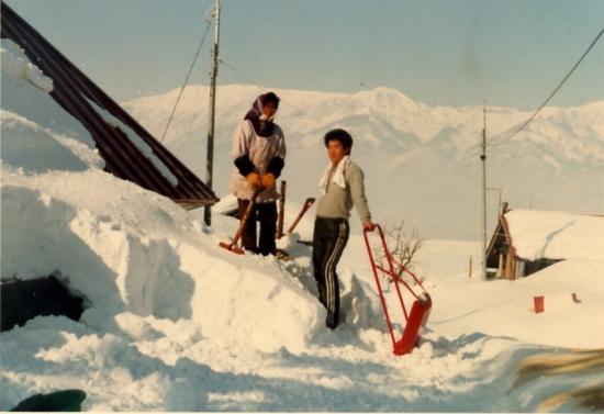 屋根の除雪(S57年)①