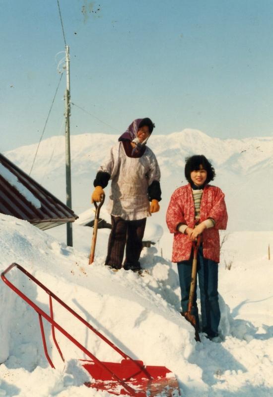 屋根の除雪(S56年)②