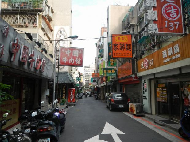 台湾ツアー2012 清真中国牛肉館(127)