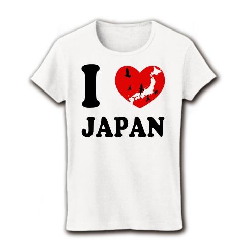 日本_リブクルーネック(ホワイト)