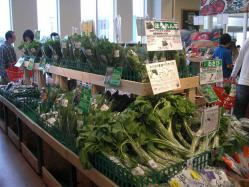 地元の野菜もあります