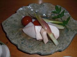 野菜の炊き合わせ