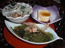 沖縄料理は好感触