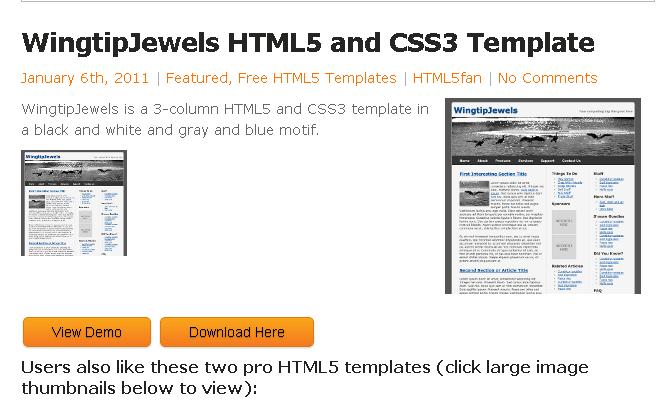 HTML5テンプレ2