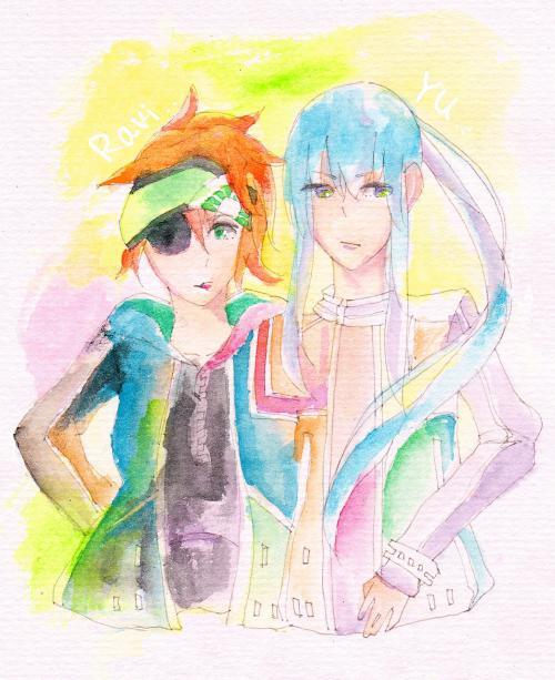 神田&ラビ