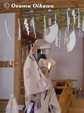 本別稲荷神社 松前神楽 翁舞