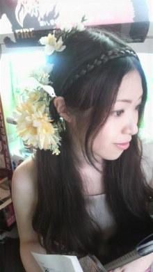 $ピアノ弾き語りシンガーソングライター松本佳奈のblog-髪飾り
