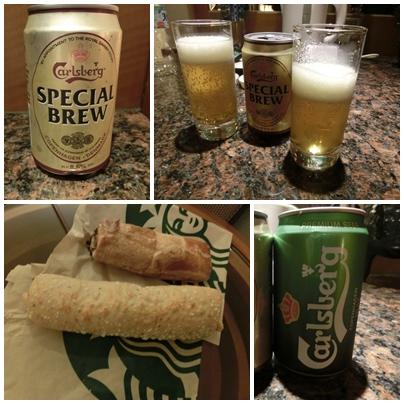ホテルでビール(2日目)