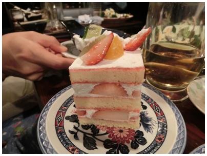 241208居酒屋「旬」ケーキ(タカスギ)