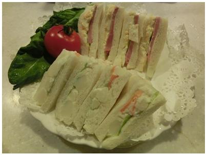 250109朝食・サンドイッチ