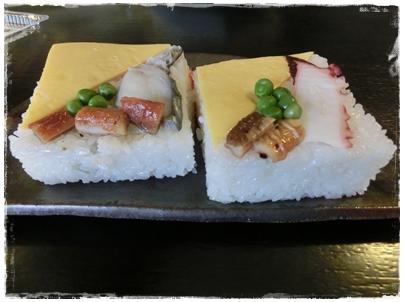 250123中村さんちの押し寿司1