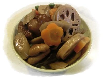 250309晩御飯(煮物)
