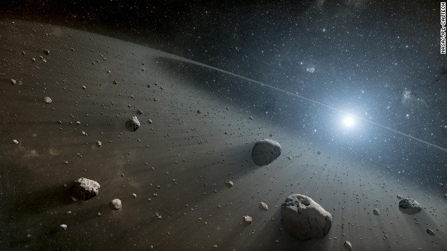 NASAは2013年2月5日現在、地球に接近する軌道を持つ天体9672個を確認。うち1374個を地球に衝突する可能性のある天体に分類している=NASA/JPL-CALTECH提供