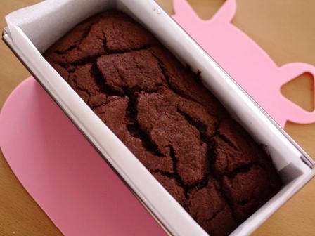 シナモン風味のチョコレートパウンドケーキラスク04