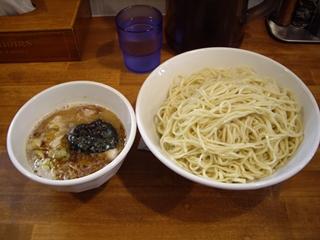 自家製麺ラーメンK つけ麺 塩味