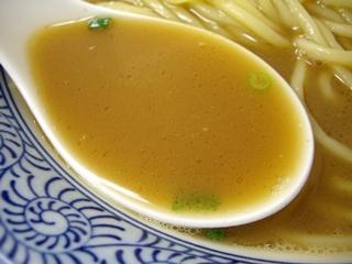 ちょっと美味しい中華食堂 大門 大門ラーメン(ちょっとこってり)(スープ)