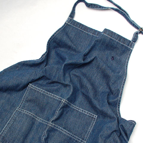 RALPH LAUREN DENIM APRON