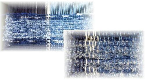 紺裂き織り1