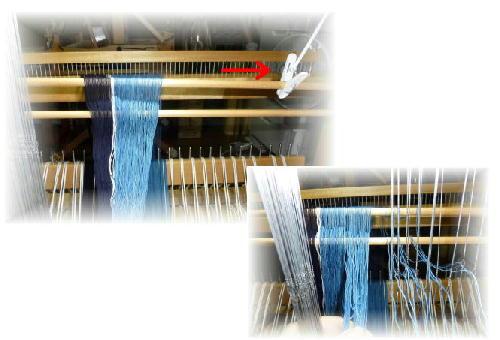 紺裂き織り2