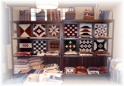 倉敷本染め手織り3