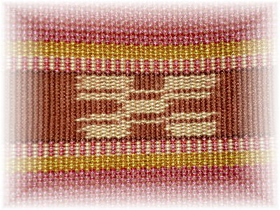 ミンサー織り2