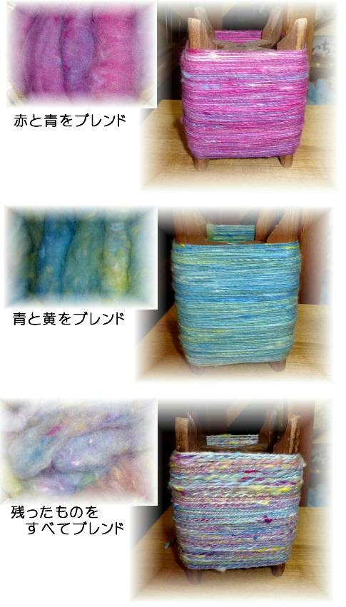 3種類の糸