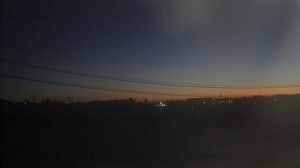 紀勢線の夜明け