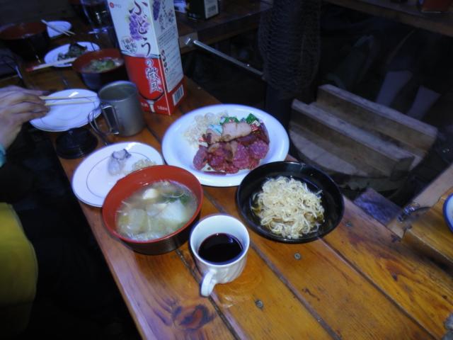 2013年元旦 夕食 2
