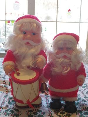 サンタさん比べ