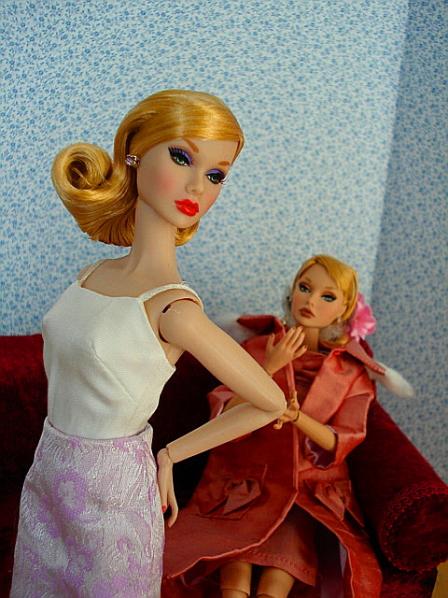 ライラック嬢とPillowちゃんの初顔合わせ