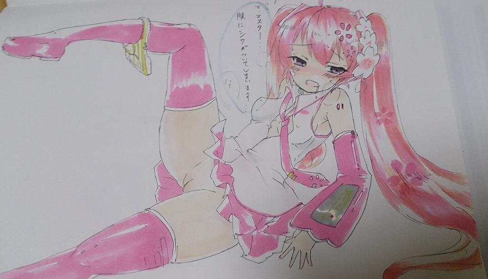 桜エロシーン