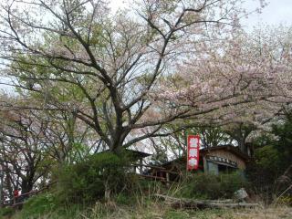 景信山の茶屋