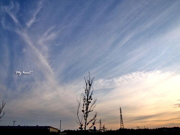 放射状雲2