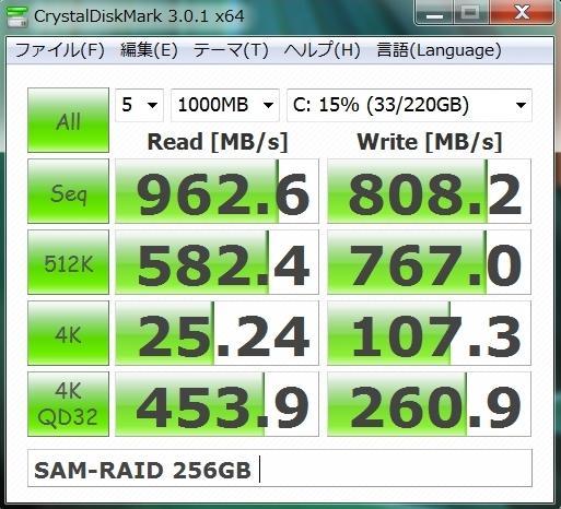 VERTEX4 128G RAID