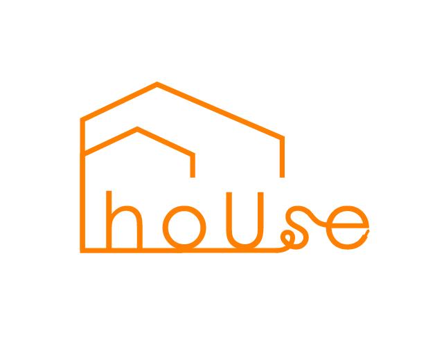 ロゴ house