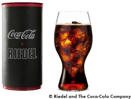 「コカ・コーラ + リーデルグラス」