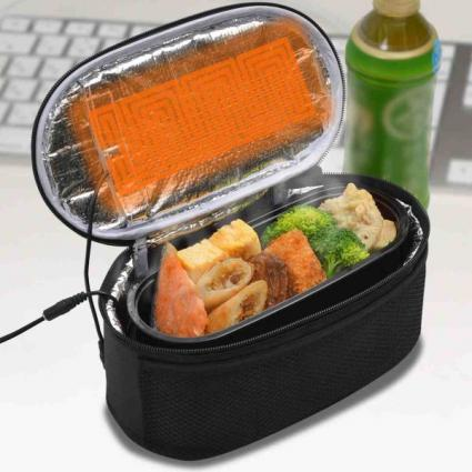 「USB 電熱保温弁当箱ポーチ」