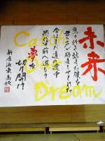 2013.1.13 書道パフォーマンス ブログ用