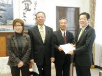 2013.1.27 予算要望書を提出