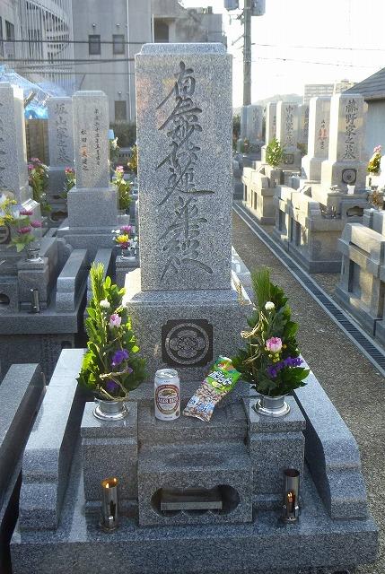 12.12.27墓参り