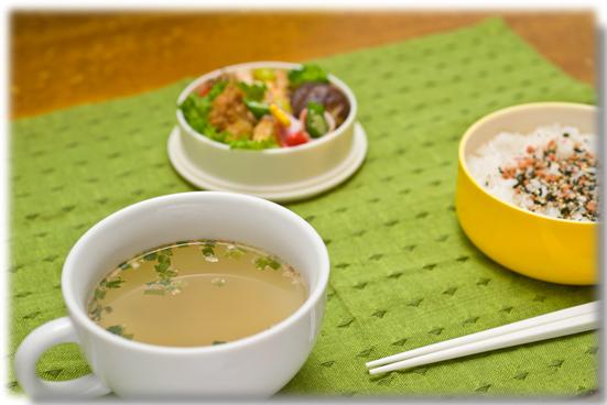 生姜スープ_お弁当
