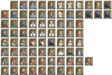 肖像画(男性)/マップチップ/キャラチップ1