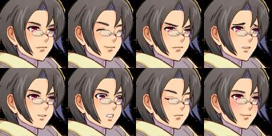 Aceパッケージのお兄さん(その1)/Ace顔グラ1