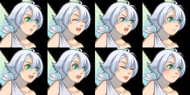 妖精の男の子/妖精サイズ顔グラ1