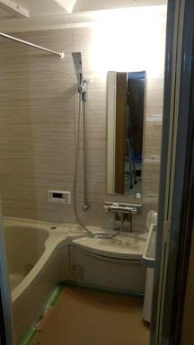 みらい住建 リフォーム 浴室改修工事3号7日③縮小