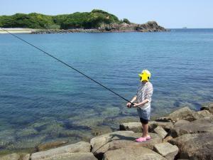 投げ釣りに挑戦!